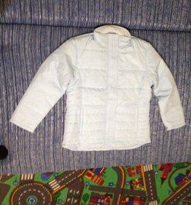 Куртка весна-осень 152 новая