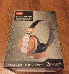 Новые беспроводные наушники JBL FM Radio MP3