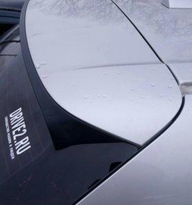 Спойлер крышки багажника БМВ х5 е70