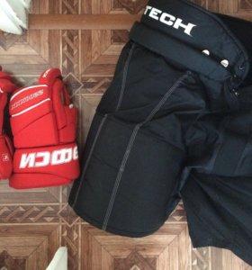 Краги , шорты хоккейные