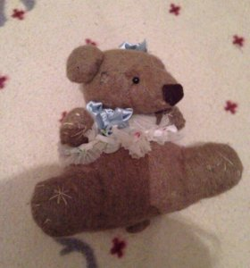 Медвежонок мягкая игрушка