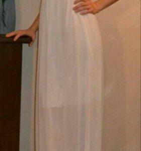 Вечернее платье в пол,в греческом стиле