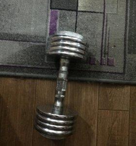Гантель 10 кг