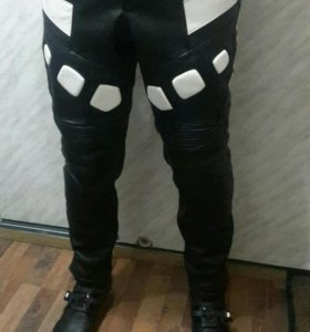 Мото штаны ямаха Yamaha R1 кожаные