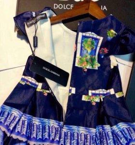 Новое платье Dolce&gabana
