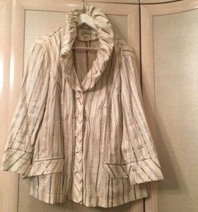 Блузка-пиджак 60 размер