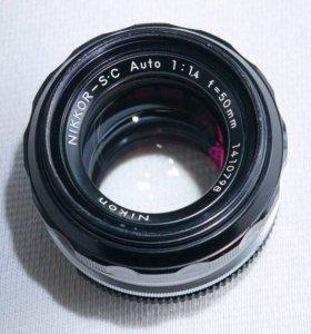 Nikor 50mm f1.4