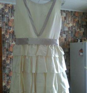 Платье свадебное-вечернее!