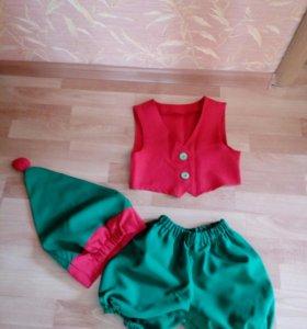 Продаётся карнавальный костюм на девочку 4 —8 лет