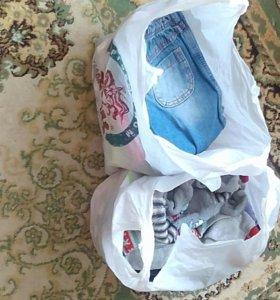 2 пакета вещей на девочку 3 года