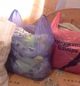 3 пакета детских вещей!!!!торг