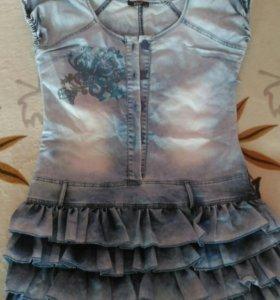 Платье джинцовое