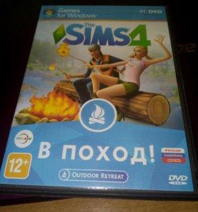 Компьютерная игра The sims 4 В поход!