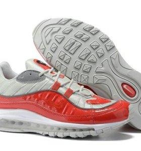 Кроссовки Nike Air Max 98 - красные