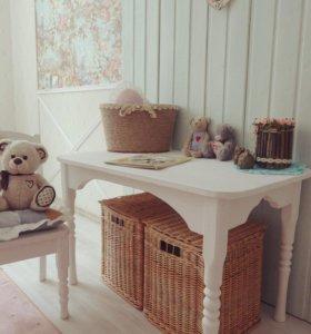 Детский набор мебели стул и столик