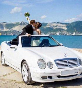 Аренда Мерседеса кабриолета на свадьбы.