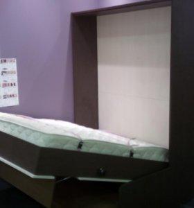 Шкаф-кровать, Подъемные кровати