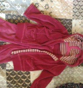 Спортивный костюм на девочку 1-2 года