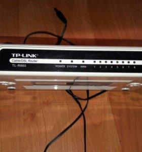 Роутер проводной TP-LINK TL-R860
