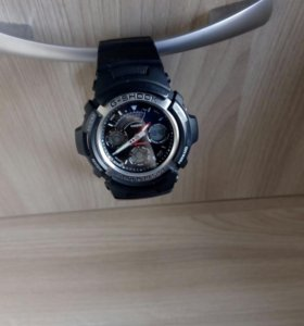 Часы CASIO G-Shock AW-590-1A