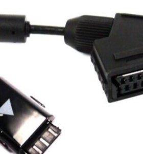 Переходник scart для LED TV Samsung 2009-2013 моде