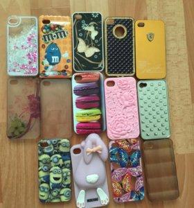 Чехлы айфон 4-4s