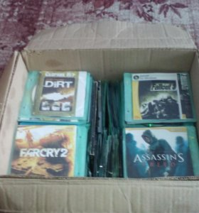 Продам коробку отличных игр
