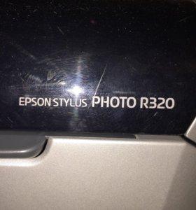 Фотопринтер Epson Stylus Photo R320