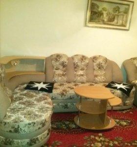 Угловая мягкая мебель(новая)