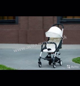Детская коляска yoya ЭКО кожа