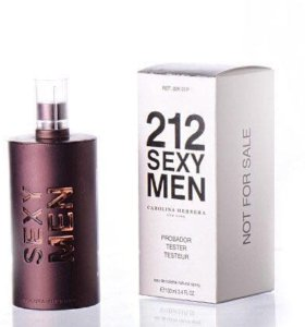 "ТЕСТЕР Carolina Herrera ""212 Sexy Mеn"" 100 ml"