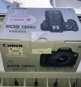 Canon eos 1300D продаётся новый