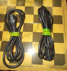 Удлинитель силового сетевого шнура питания 220W