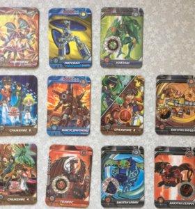 Карточки Bakugan Battle Brawlers