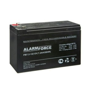 Аккумуляторная батарея alarm force FB 12V 7.2Ah