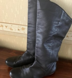 Сапоги кожаные 42 размер