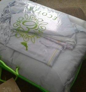 Новые бортики для кроватки