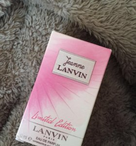 Lanvin Jeanne limited edition оригинал