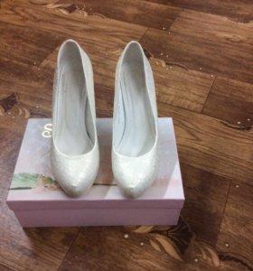Свадебные туфли 38
