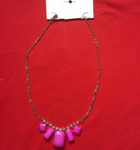 Новое Колье, ожерелье, бижутерия