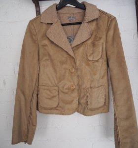 Вельветовая куртка Naf Naf