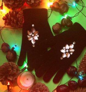 Женские перчатки, перчатки