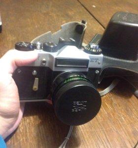 Фотоаппарат Zenit ET Helios объектив в кож. чехле