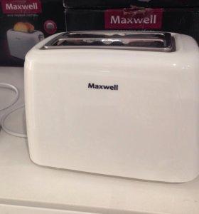 Тостер Maxwell 1504 новый