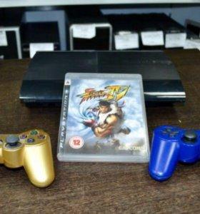 PlayStation 3 500Gb+ 2 джостика+ 1 диск с игрой