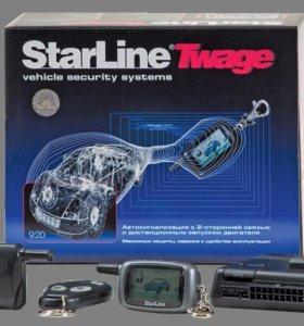 Автосигнализация starline A8