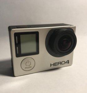 Экшн-камера GoPro Hero 4 Black + доп аксессуары
