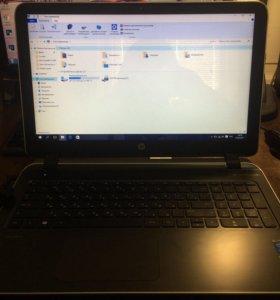 Ноутбук HP Pavilion 15-p163nr серый