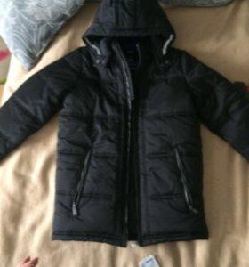 Куртка на мальчика 10-11лет новая
