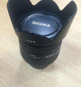 Продам объектив SIGMA 28-135